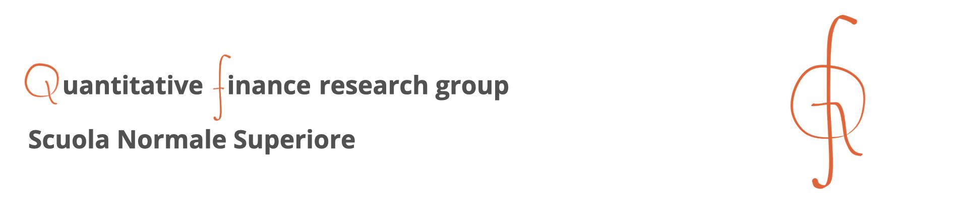 Quantitative Finance Research Group